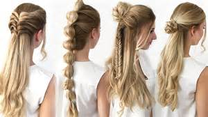 4 Frisuren Mit Wow Effekt Einfach Amp Schnell