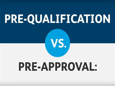 Mortgage Pre Qualification Letter Vs Pre Approval 7 Reasons You Should Get Pre Approved For A Loan Real Estate Finance