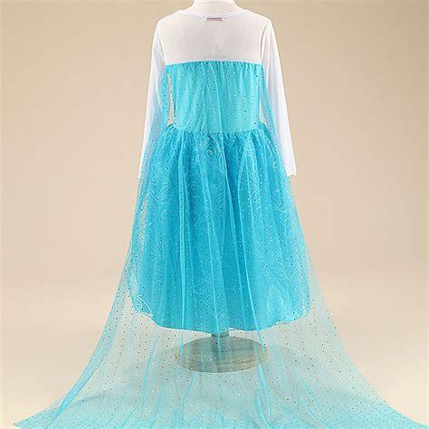 Baju Elsa Frozen Jakarta frozen elsa baju anak size 150 z006 blue jakartanotebook