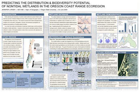 dissertation poster exle geo 580 project descriptions