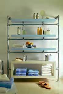 Bathroom Floating Shelves » New Home Design