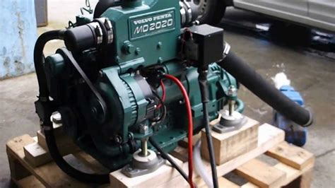 Volvo Md2020 For Sale by Volvo Penta 20hp Md2020 For Sale Demo Run