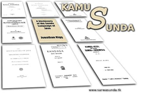 Kamus Basa Sunda R A Danadibrata kamus basa sunda sarwasunda