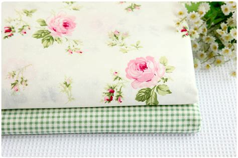 Cotton Floral Table Cloth 110x160cm Shabby Chic Taplak Meja Bunga B One Meter 100 Cotton Floral Roses White Twill Fabric