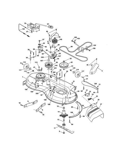 craftsman tractor parts model 917288530 sears partsdirect