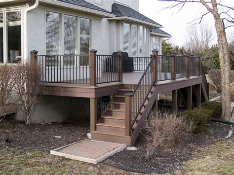 Handrail Systems Evergrain Envision Vinyl Wrapped Composite Deck Pictures