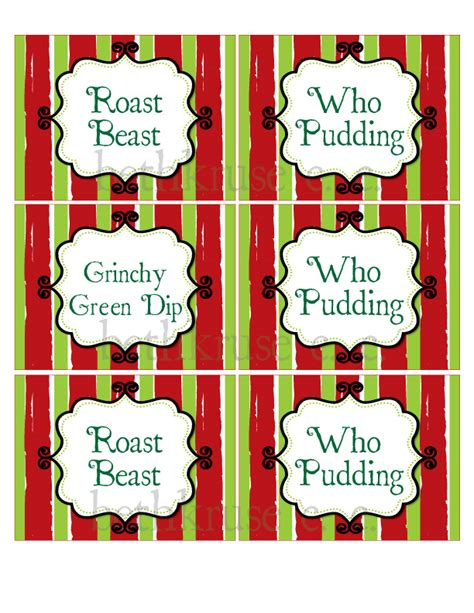 printable ord m label search results for grinch dust printable label