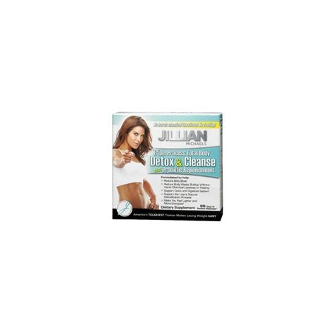 Jillian Detox And Shred Pills by Detox Cleanse 35 Capsules By Jillian