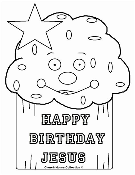 happy birthday coloring pages pdf sweet happy birthday jesus cupcake coloring pages