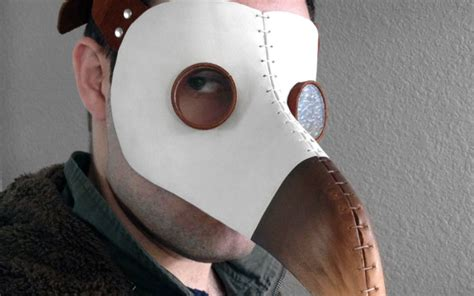 How To Make A Plague Doctor Mask With Paper Mache - plague doctor masks for sale costume usa uk