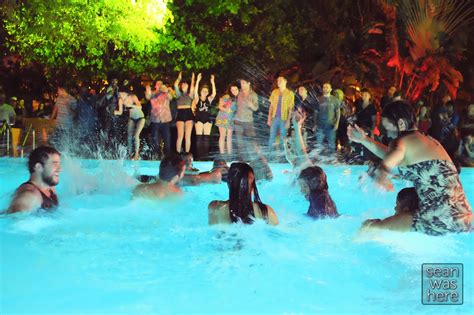 house pool party juxtapoz art basel pool party at shore club black lips skinny dipping sean was here out and