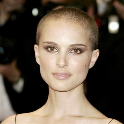 Natalie Portman shaved head   Yesterface
