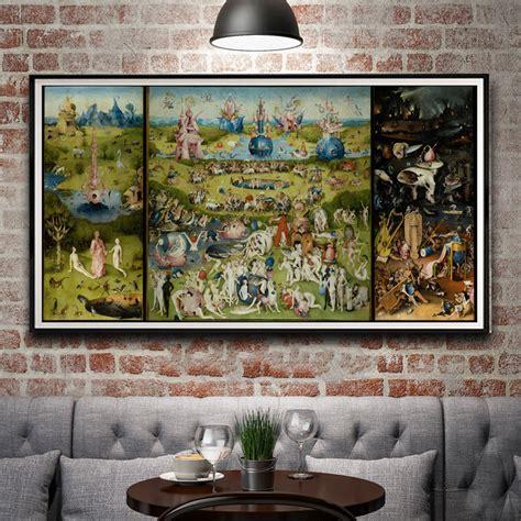 hieronymus bosch garden of 3791382055 aliexpress com buy artwork painting the garden of earthly delights hieronymus bosch silk