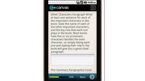 book report app canvas book report writing mobile app