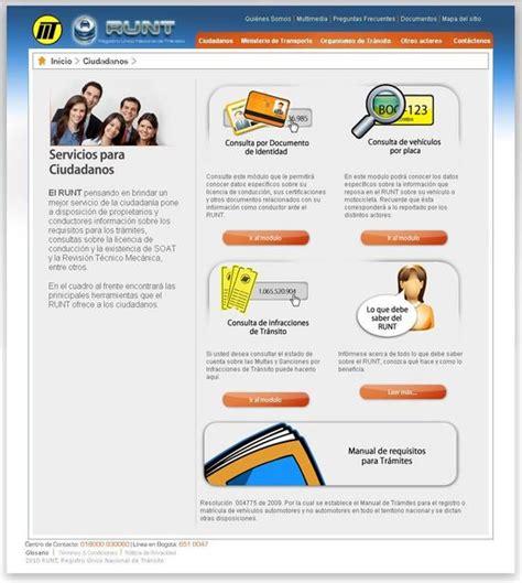 runt runt personal runt colombia informacion consulta y registro runt por placa www runt com co runt por placa