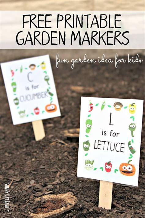 preschool garden ideas 15 must see printable garden labels pins herb labels