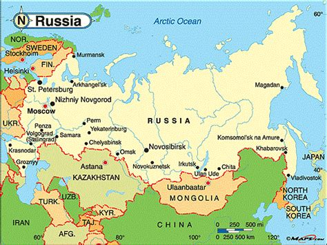 russia on world map 2015 political map of russia image map pictures