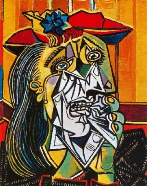 imagenes figurativas de pablo picasso la mujer que llora de pablo picasso