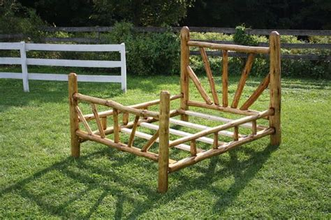queen size log bed frame rustic bed frame queen size pictures of log bed frame