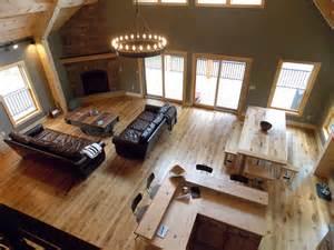 beautiful cabin interiors lofty mountain homes