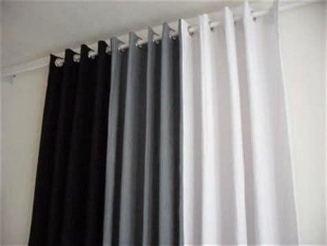 black white gray curtains three color finished curtains blackout curtains black