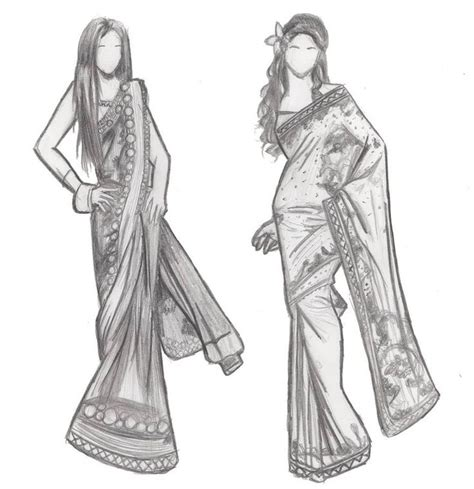 design fashion news indian fashion sketches by iburntmytoast on deviantart