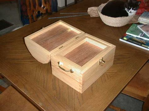homemade version   dome lidded chest