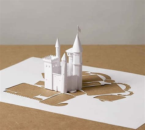 Paper Craft Castle - papercraft castle by callesen gearfuse