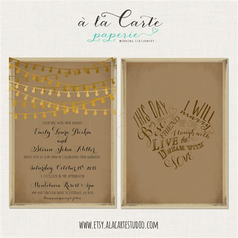 this day i will my best friend rustic wedding