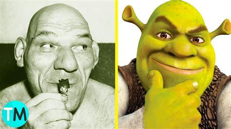 imagenes de up en la vida real 10 personajes animados que existen en la vida real shrek