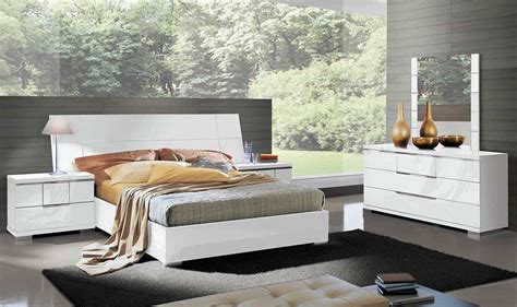 modern high gloss finish queen bedroom set made in italy italian asti bed by alf furniture alf bedroom furniture