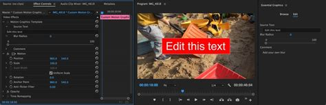 Premiere Pro Cc 2017 1 Spring Creativity Made Simple Not Simplistic Premiere Bro Premiere Pro Motion Graphics Templates