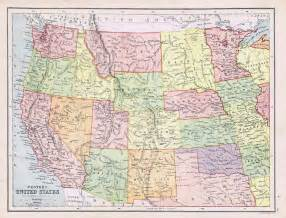 us map nevada arizona united states w utah nevada arizona idaho antique
