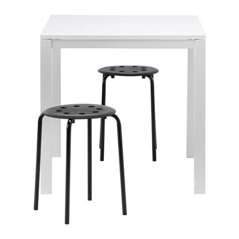 Melltorp Table by Melltorp Marius Table And 2 Stools