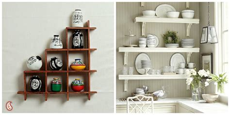 kitchen wall shelves ideas inspiring easy kitchen wall decoration ideas