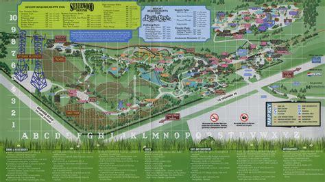 silverwood idaho map map