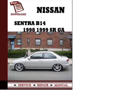 car engine repair manual 1999 nissan sentra on board diagnostic system 1999 nissan sentra gxe service manual