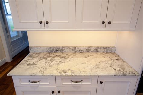 White Quartzite Countertops by White Quartzite Countertops Traditional Kitchen