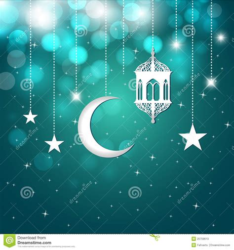 ramadan greeting card stock  image