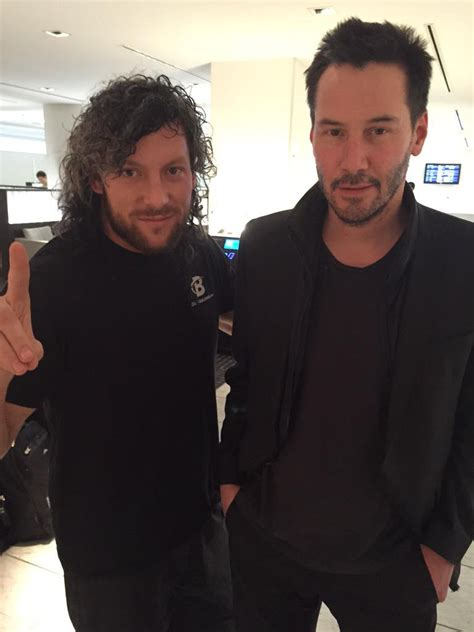 keanu reeves kenny omega kenny omega on twitter quot perhaps the first time i was ever