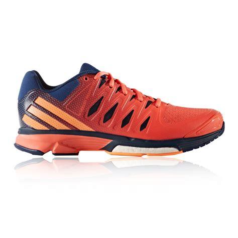 indoor sport shoes adidas volley response 2 b mens orange squash indoor