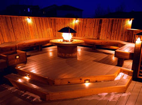 solar deck accent lights 25 amazing deck lights ideas and simple outdoor