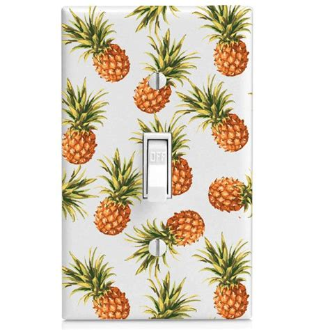 pineapple light switch cover light switch cover pineapple pattern by switchcoversupply