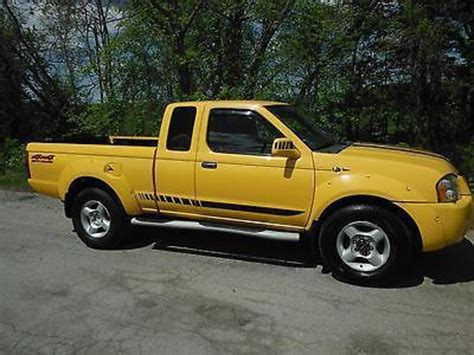 yellow nissan truck yellow nissan frontier for sale used cars on buysellsearch