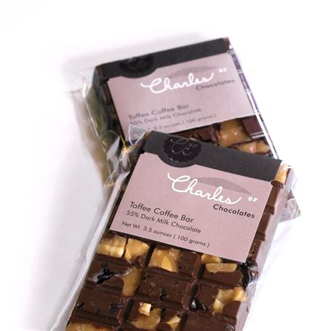 Chocolate Grande Coffee Toffee toffee coffee bar charles chocolates