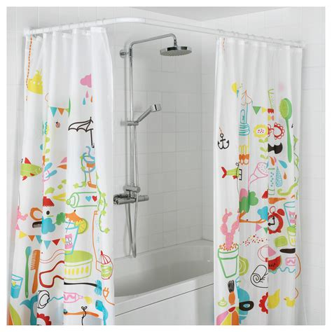 Ikea White Curtains Inspiration Ikea Shower Curtain Pictures Inspiration Bathroom And Shower Ideas Purosion