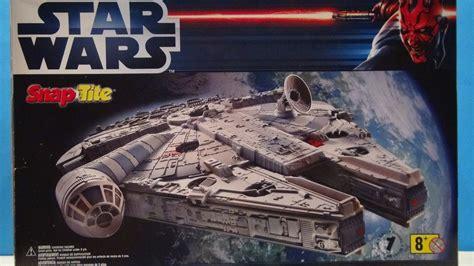 Cetakan Es Batu Model Wars Millennium Falcon wars han s millenium falcon snap tite model kit