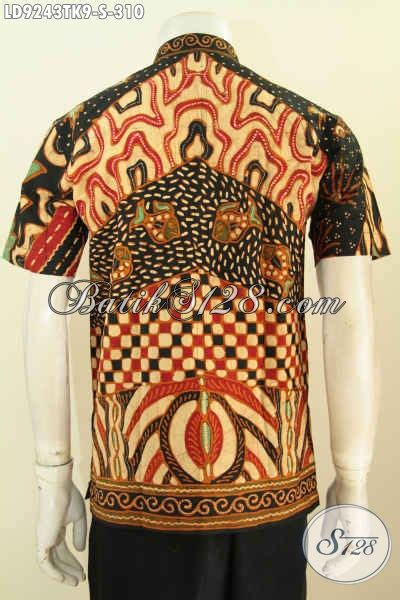 Hem Batik Shanghai hem batik kerja elegan desan kerah shanghai baju batik
