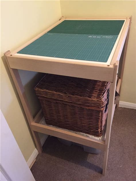 ikea sewing table hack ikea hack sniglar changing table to a cutting