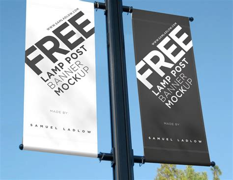 L Post Banner door signage mockup door hanger mock up 2 jpg